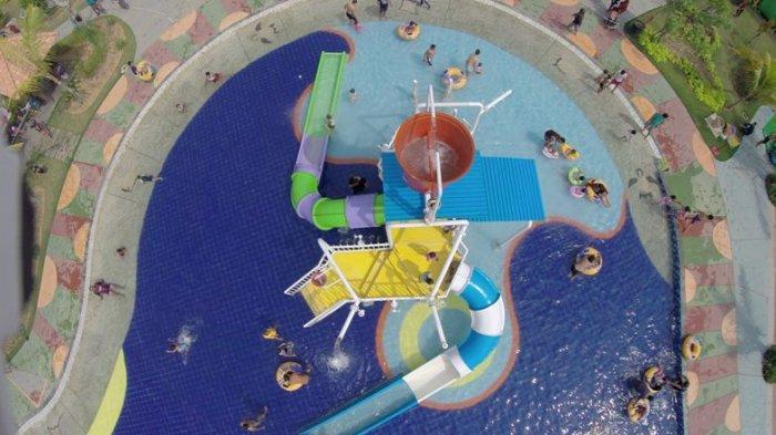 Objek Wisata World of Water CitraRaya City Mendalo Untuk Mengisi Akhir Pekan Dengan Bermain Air
