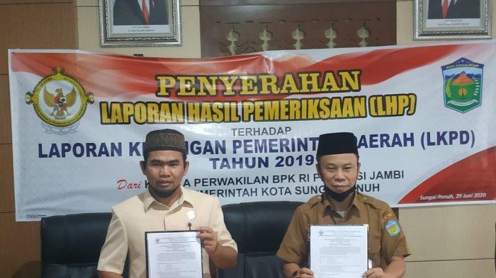 Raih WTP 7 Kali, Wako AJB Buktikan Keberhasilan Pengelolaan Keuangan Daerah