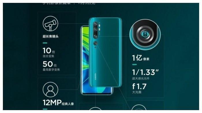 Review Gadget Xiaomi CC9 Pro Dibekali Kamera Tangguh 108MP, Ini Jadwal Launching Perdana-Nya!