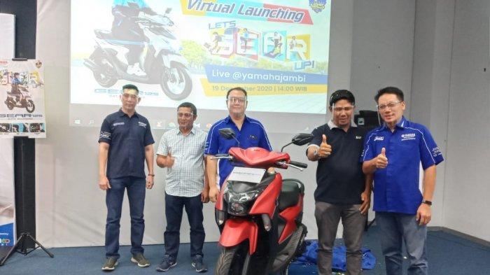 Yamaha DDS Jambi Launching Yamaha Gear 125 Matic Multiguna Bermesin Bluecore 125 Generasi Terbaru