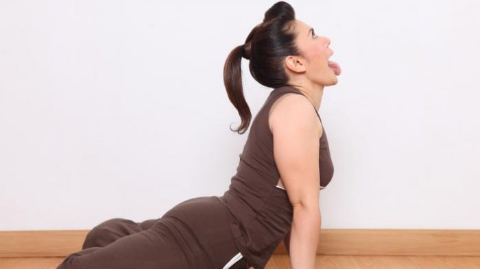 Ilustrasi senam Yoga