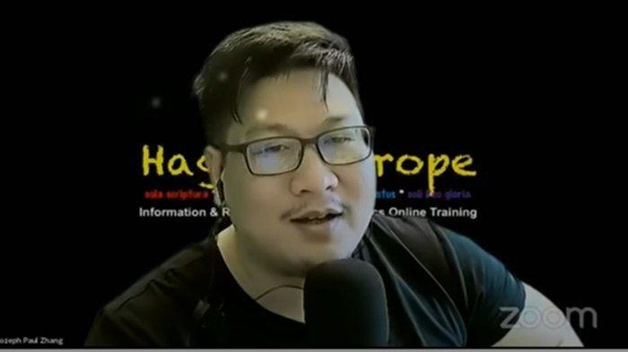 Jozeph Paul Zhang Tersangka Penistaan Agama Kini Statusnya Bukan WNI: Saya Ditentukan Hukum Eropa