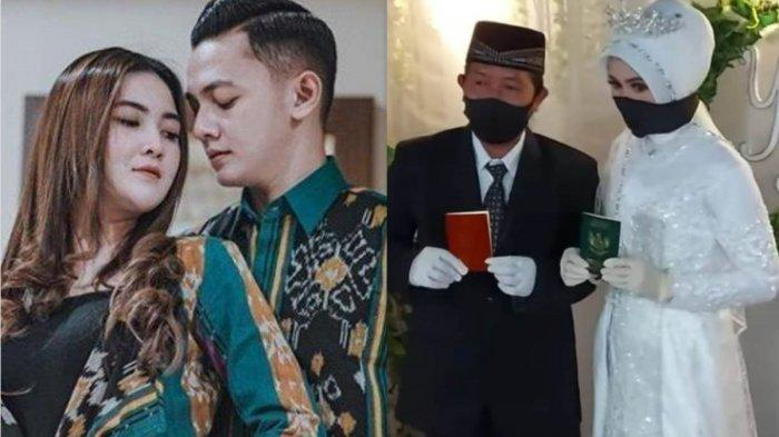 Inilah Sosok Yuliana Saputri, Istri Cantik Cak Malik, Foto Pernikahan dan Ijab Kabulnya Viral