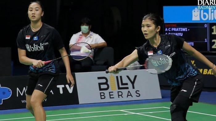 Yulfira/Febby Raih Gelar Perdana di Spain Masters 2021 Setelah Menang Mudah dari Wakil Denmark