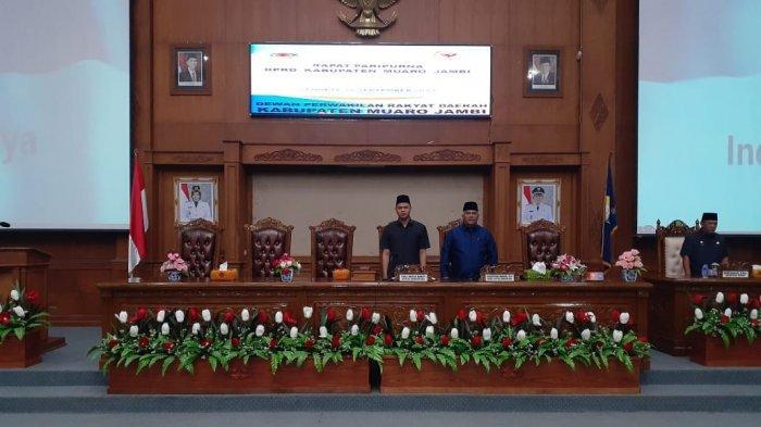 Yuli Setia Bakti Resmi Ketua DPRD Muarojambi,Wakil Ketua dari Demokrat dan PKB