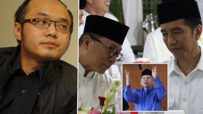 Pernyataan Zulkifli Hasan Soal Dukungan PAN ke Jokowi, Yunarto Wijaya Sindir Amien Rais