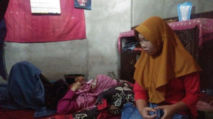 Yurmalina Warga Kerinci Setahun Tergeletak karena Kanker ...
