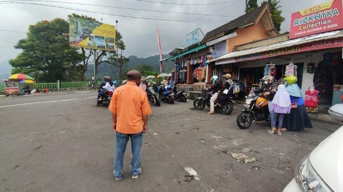 Meski Pengunjung Dibatasi, Pedagang Hingga Tukang Parkir Sumringah, Wisata Baturraden Kembali Buka