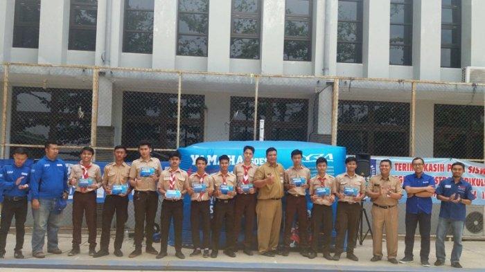 10 Siswa Wakili SMAN 1 Semarang untuk Ikuti Yamaha Safety Riding Competition 2017