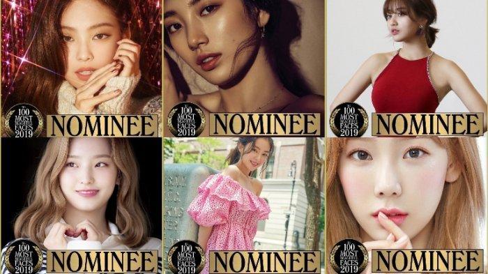 Ini Idol Kpop Yang Masuk Nominasi 100 Most Beautiful Faces Jihyo Irene Lisa Hingga Bae Suzy Tribun Jateng