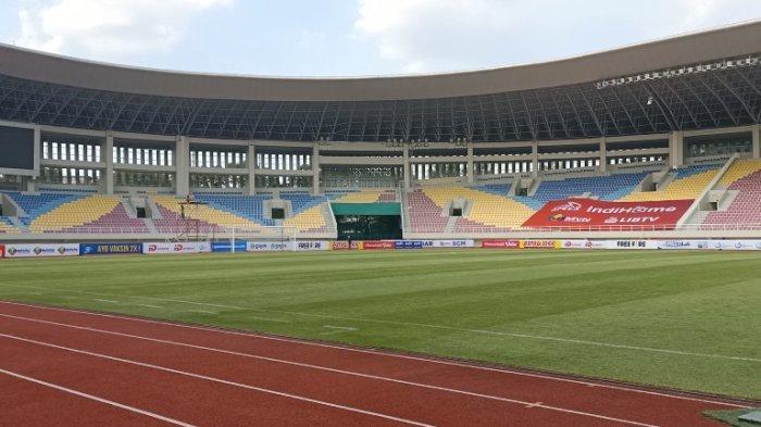 Stadion Manahan Solo sebagai salah satu stadion yang direncanakan untuk penyelenggaran Liga 2 pada pertengahan Oktober mendatang.