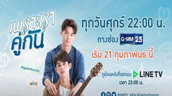 Sinopsis Drama 2gether, Sedang Viral di Thailand