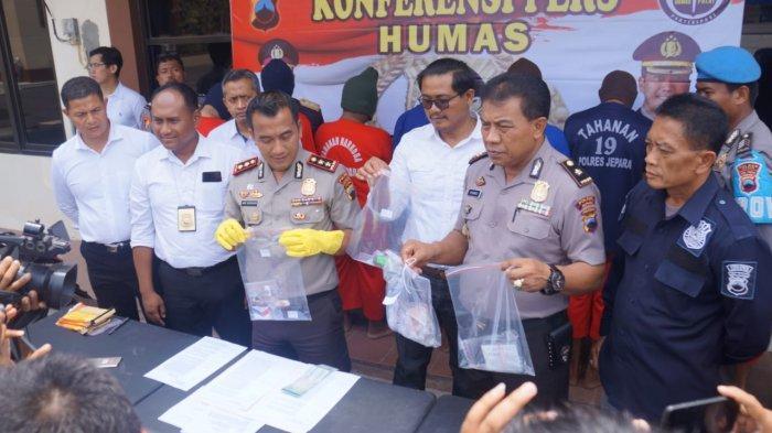 Dalam Sebulan, 3 Orang Pengedar Narkoba Ditangkap di Jepara