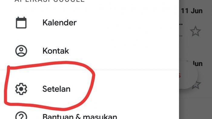 Cara logout gmail di hp android.. 3. Pilih menu Setelan atau Settings atau Pengaturan.