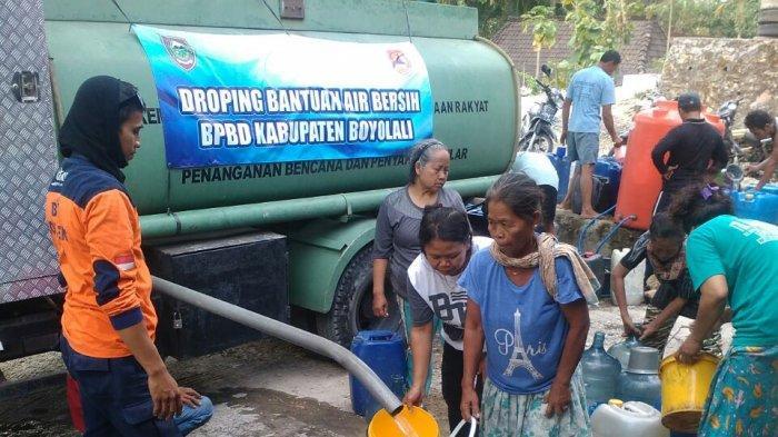 371 Tangki Air Berhasil Didistribusikan Selama Musim Kemarau di Boyolali