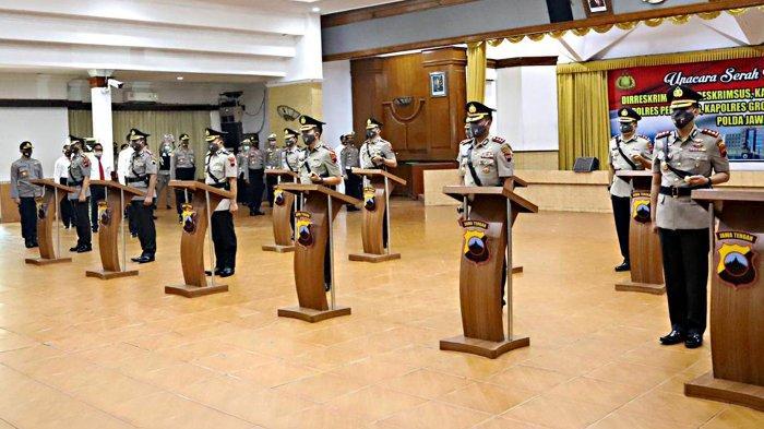 Daftar Lengkap 5 Kapolres Baru di Jawa Tengah Sudah Resmi Sertijab di Polda Jateng