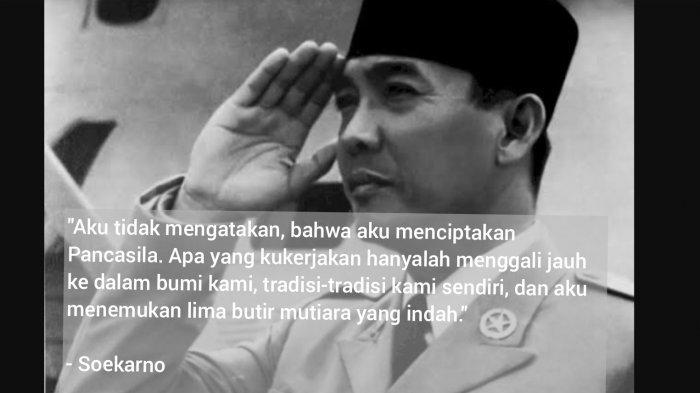 8 Kata-kata Bijak dan Quotes Soekarno Tentang Pancasila