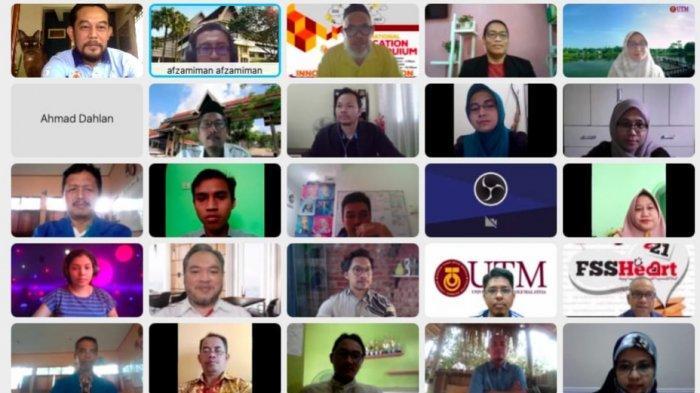 8 Mahasiswa Magister PIPS UMP Tampil dalam International Education Colloquium UMP-FSSH UTM