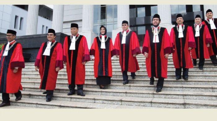 Empat Hari Lagi Sidang Putusan, Hakim MK MulaiGelar RPH Hari IniSecara Tertutup