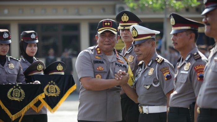 90 Anggotanya Naik Pangkat di Akhir Tahun 2019, Ini Pesan AKBP Indra Kurniawan Mangunsong