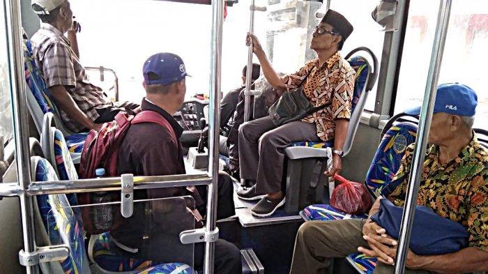Penumpang Trans Semarang Wajib Pakai Masker Mulai 22 April 2020
