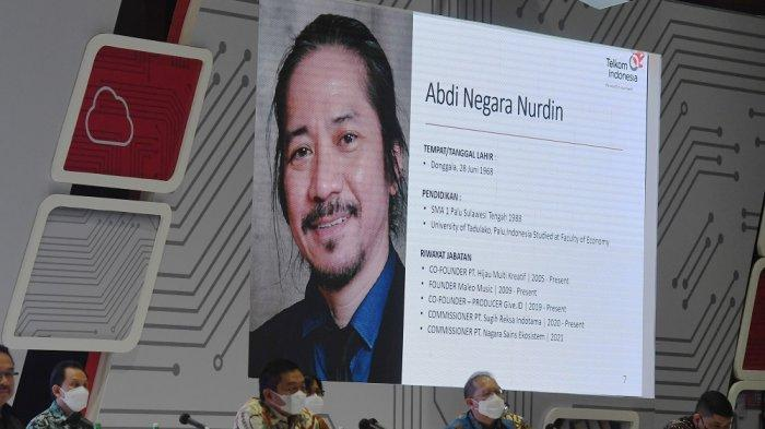 Prokontra Abdee Slank Diangkat Komisaris, Saham Telkom Langsung Rontok