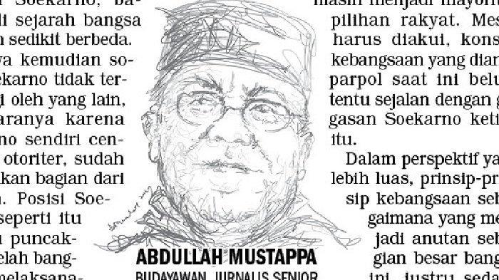 OPINI Abdullah Mustappa : Soekarno Tidak Berhenti Berpikir