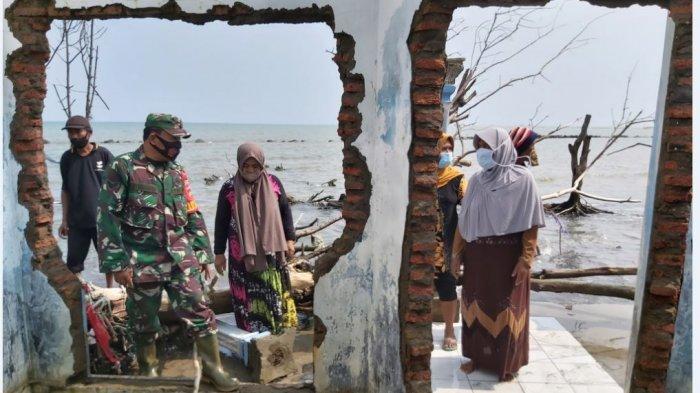 Abrasi di Simonet Pekalongan, Solati: Air Laut Pernah Satu Atap Rumah