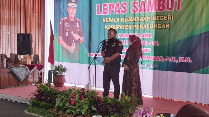 Mutasi, Abun Hasbullah Syambas Jabat Kepala Kejaksaan Negeri Kabupaten Pekalongan