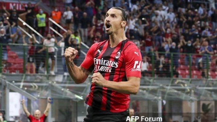 Baru Saja Sembuh dan Cetak Gol, Ibrahimovic Harus Menepi Saat AC Milan Bertemu Liverpool