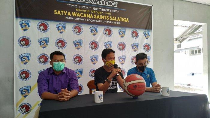 Tim Basket Satya Wacana Saints Salatiga Umumkan Pergantian Pelatih