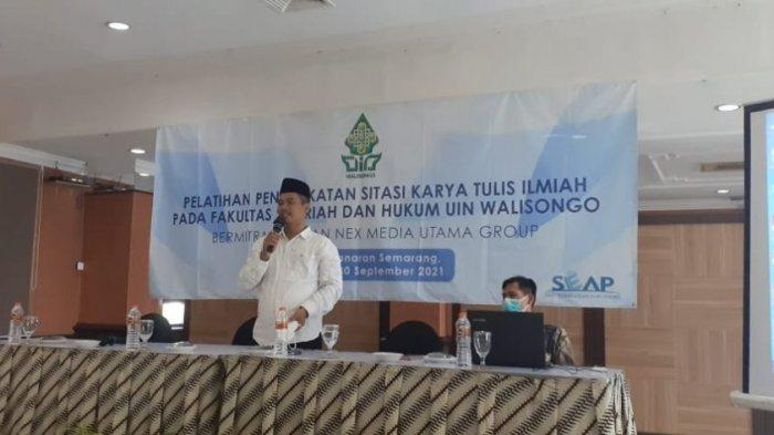 FSH UIN Walisongo Semarang Gelar Workhsop Peningkatan Sitasi Karya Ilmiah