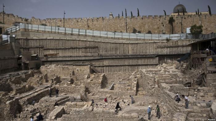 Reruntuhan Kerajaan Nabi Daud Ditemukan Dekat Masjidil Aqsa