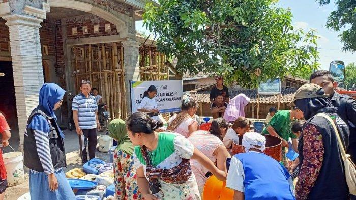 Dampak Kekeringan Terus Meluas di Jawa Tengah, Tim MRI-ACT Siapkan Puluhan Ribu Liter Air Bersih