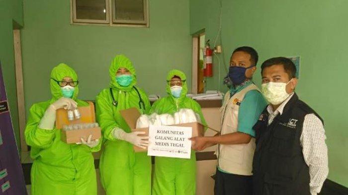 ACT Tegal Sumbangkan Perlengkapan Medis ke Rumah Sakit dan Puskesmas di Tegal dan Brebes