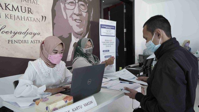 Peduli Karyawan dan Konsumen, Astra Group Jawa Tengah Lakukan Program Vaksinasi Gotong Royong