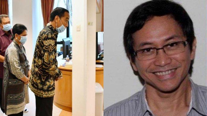 Jokowi Jenguk Ani Yudhoyono Disebut Politisasi, Addie MS: Hidupmu Penuh Kebencian