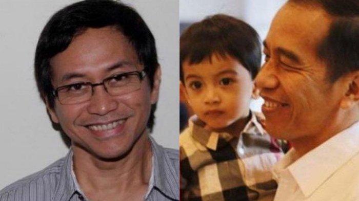Tingkah Lucu Jan Ethes saat Digendong Jokowi Bikin Addie MS Ingin Segera Punya Cucu