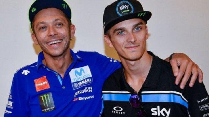 Sempat Lupa Ada Valentino Rossi, Begini Cerita Luca Marini Setelah Debut di MotoGP Qatar