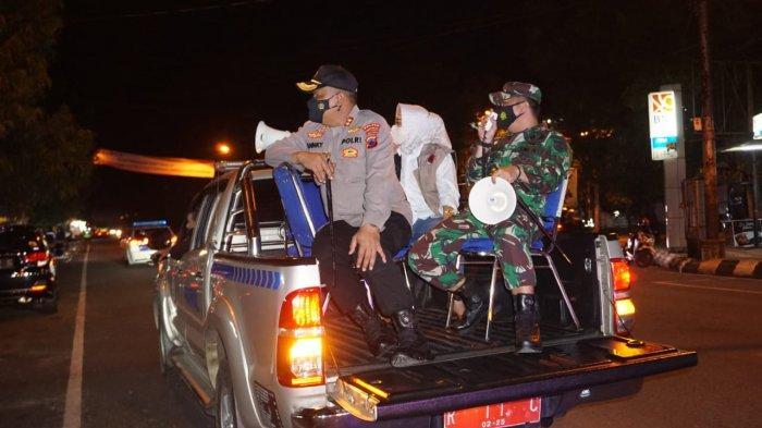 Bupati Tiwi Bersama Kapolres dan Dandim Pantau Penerapan PPKM Darurat, Keliling Kota Purbalingga