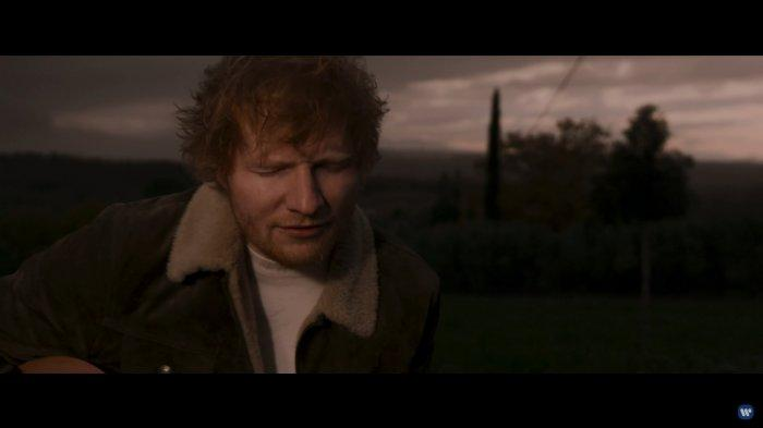 Not Angka Photograph Ed Sheeran dengan Liriknya