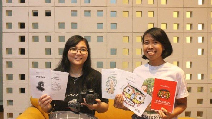 Bikin Zine untuk Remaja Kampung saat Pandemi, Agnes dan Claudya Asal Kendal Juara Vlog Nasional