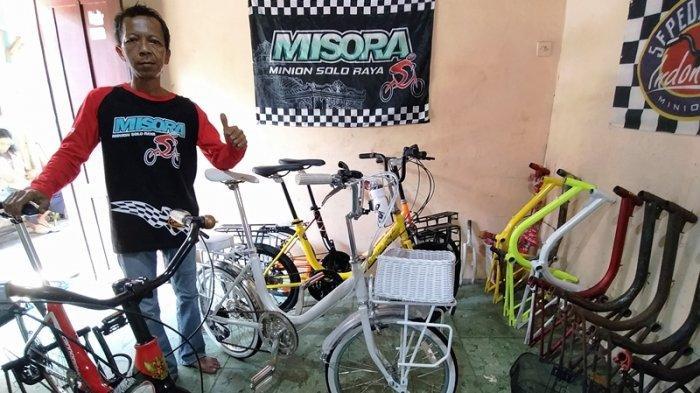 Di Solo Sepeda Lawas Minion Juga Diminati Di Tengah Pandemi Segini Harganya Tribun Jateng