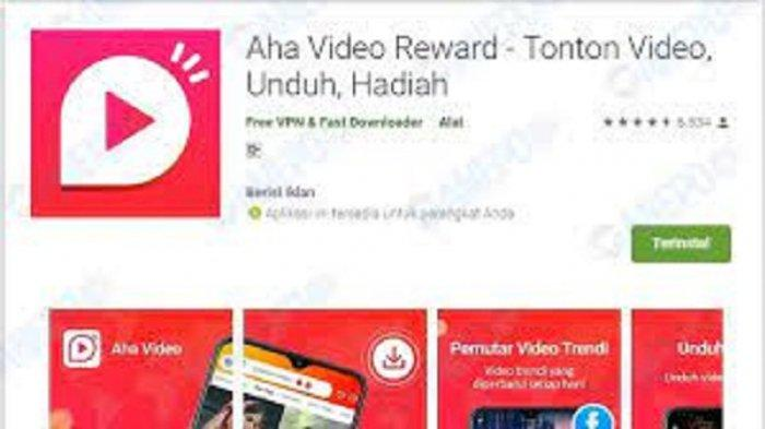 Aplikasi Penghasil Uang Video Reward Cara Mudah Dapat Cuan