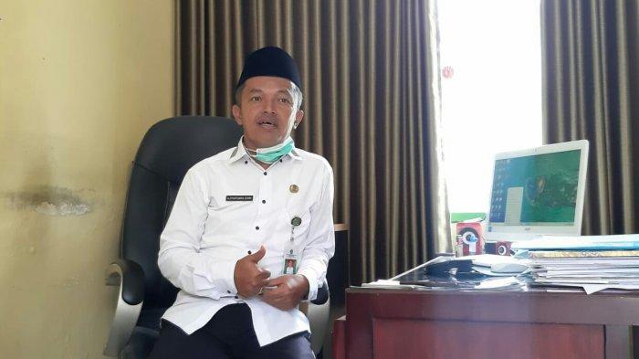 Kasi Bimas Kemenag Kabupaten Tegal Ahmad Syaifuddin Zuhri, saat ditemui Tribunjateng.com di ruang kerjanya, Selasa (6/4/2021).