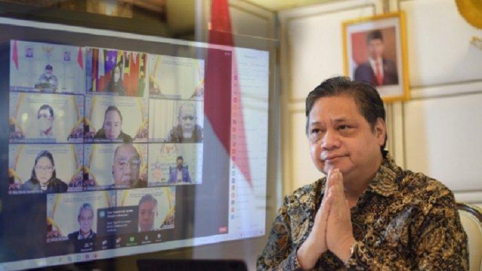 PPKM Luar Jawa-Bali, Menko Airlangga : Tidak mungkin Hilang Total,  Masyarakat Diminta tetap Waspada