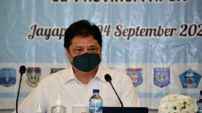 Menko Airlangga : Pemerintah Koordinasikan Penanganan Covid-19  Sebelum Pelaksanaan PON XX di Papua