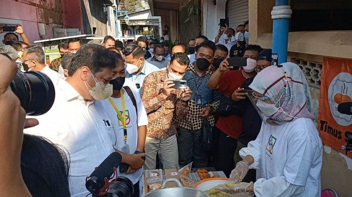 Airlangga Hartarto Didoakan Warga Jadi Presiden, Niat Blusukan di Markas Jokowi