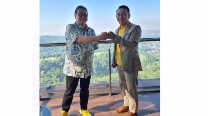 Airlangga Hartarto dan Ridwan Kamil Bertemu di Hotel Intercontinental Bandung Bahas Hal Ini