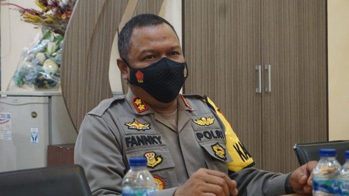 Kapolres Purbalingga, AKBP Fannky Ani Sugiharto, menyampaikan klarifikasi tentang polisi lalu lintas (Polantas) yang diduga melakukan pungutan liar (pungli) sempat viral di media sosial, pada Selasa (23/3/2021).